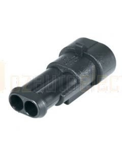 Hella Mining HM4982-S 2 Pole Super Seal Socket (Pack of 4)