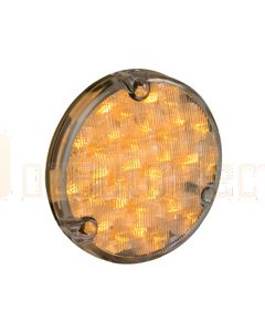 Hella 500 Series LED Front Direction Indicator Module - Amber Illuminated (2105CLR)