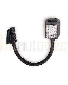 Hella Marine 2AB004532-171 6W Halogen Chart Lamps - 12V, 11.65inchs / 296mm Black Housing