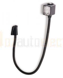 Hella Marine 2AB004532-171 6W Halogen Chart Lamps - 12V, 23.6inchs / 600mm Black Housing
