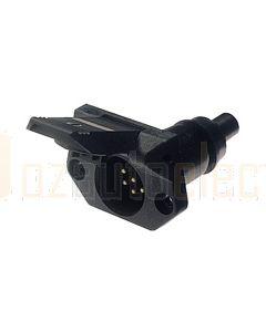 Hella 7 Pole Trailer Socket - Plastic, Small (4932)
