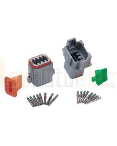Hella Mining HM4964 DT Series 8 Pole Plug and Socket