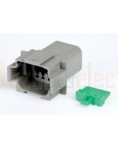 Hella Mining 9.HM4949 8-Way Female DT Connector (Incl. Wedge) - Pack of 5