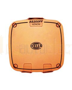 Hella AS200 FF Xenon Clear Protective Cover - Amber (HM8154AMBER)