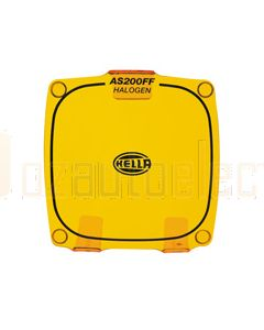 Hella AS200 Halogen FF Amber Clear Protective Cover (HM8156AMBER)