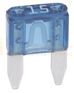 Hella MIning 9.HM4985 Blade Fuse - 15A, Blue (Pack of 30)