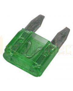Hella MIning 9.HM4988 Blade Fuse - 30A, Green (Pack of 30)