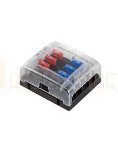 Hella 8725 Blade Fuse Box - 6 Fuses (8725)