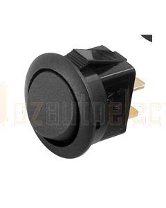 Hella Compact Off-On Rocker Switch - Black (4444)
