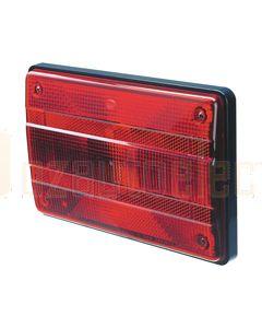 Hella Designline Stop/ Rear Position Lamp - Inbuilt Retro Reflector (2321)