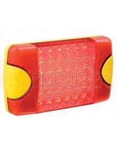 Hella Mining HM070621 DuraLED ECE Signal Lamps - Rear Turn Signal (Amber Illuminated)