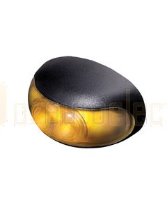 Hella 2051 DuraLED Amber Illuminated Front End Outline Lamp