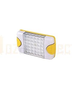 Hella Mining HM95903790 DuraLed M-Series High Intensity Warning Beacon - Narrow Beam Bare Wire, White