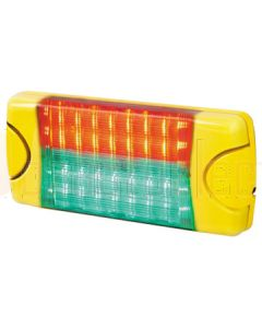 Hella Mining HM95905030 DuraLED MSIP Signal Lamps - Red/Green
