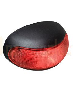 Hella DuraLed Nylon Rear Position/Outline Lamp - Red Illuminated (Pack of 4) (2307GMDBULK)