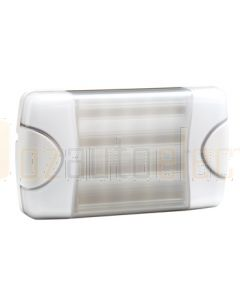 Hella DuraLed Plus Universal High Efficacy 20 LED Spread Beam Lamp - White Housing (98060801)