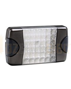 Hella DuraLed Universal High Efficacy 36 LED Narrow Beam Lamp - Charcoal Housing (95903741)