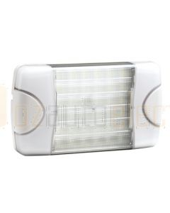 Hella DuraLed Universal High Efficacy 36 LED Spread Beam Lamp - White Housing (95903720)