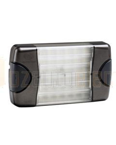 Hella DuraLed Universal High Efficacy 36 LED Spread Beam Lamp - Charcoal Housing (95903721)