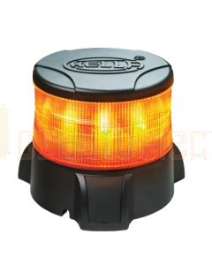 Hella Mining HM9500ADIR DuraRAY3 LED Rotating Beacons - Amber Direct Mount