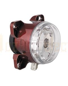 Hella FF H7 Main Beam Headlamp Assembly with Position Lamp - 24V (1030-24V)