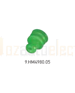 Hella Mining 9.HM4980.05 Green Seal to Suit Cable Insulation 1.4 – 1.7mm dia. (Pack of 50)