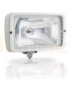 Hella Marine 1GA007118-081 Halogen 7118 Series Floodlights - 12V Ice White, Clear Lens