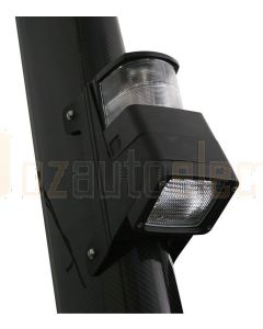 Hella Marine 2LT998504-001 Halogen 8504 Series Masthead/Floodlight Lamps - 12V Black Housing