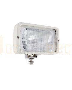 Hella Halogen FF Single Beam Work Lamp - Close Range, White, 12V (2859)