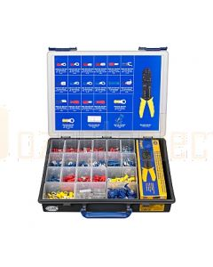 Hella Mining HM8295 Handy Box Crimp Terminal Kit (401 Pieces)