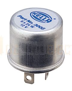 Hella High Capacity Flasher Unit - 2 Pin, 12V DC (3008)