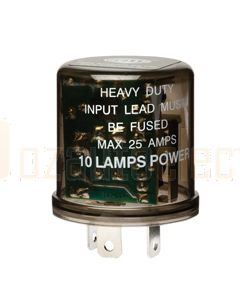 Hella High Capacity Flasher Unit - 3 Pin, 12V DC (3027)