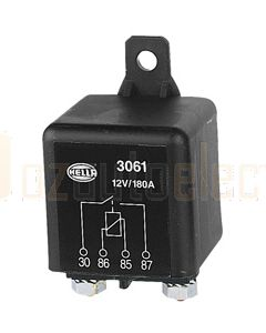 Hella 3061 High Capacity Normally Open Relay - 4 Pin, 12V DC