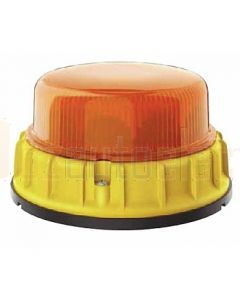 Hella Mining HM9600AMAG K-LED 2.0 LED Warning Beacon - Amber Magnet Mount