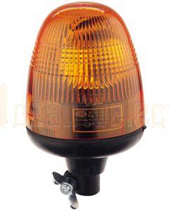 Hella KL Rotaflex Series Amber - Flexible Pipe Mount, 12V DC (1730)