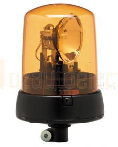Hella KL7000 Series Amber - Flexible Pipe Mount, Dual Voltage 12/24V DC (12V Globe) (1735)