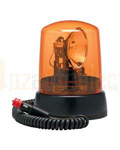 Hella KL7000 Series Amber - Magnetic Mount, Dual Voltage 12/24V DC (12V Globe) (1729)