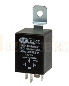 Hella LED Flasher Unit - 12V DC, 3 + 1 (8) (3039)