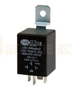 Hella LED Flasher Unit - 24V DC, 2 + 1 (6) (3037)