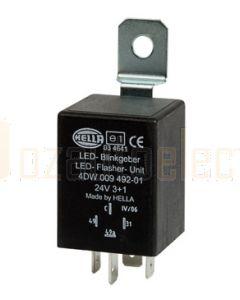 Hella LED Flasher Unit - 24V DC, 3 + 1 (8) (3038)