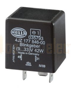 Hella LED Flasher Unit - 9-33V DC (3040)