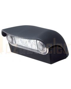 Hella 2559-1BULK Pack of 8 10-30V DC LED Licence Plate Lamps with Extension Housing