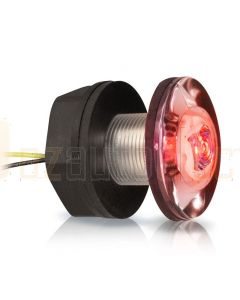 Hella Marine 2JA998543-021 LED Livewell Lamps - 12V DC, Red Light