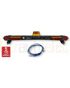 Hella Mining HM1800T LED Mine Spec Signal Bar Kit to suit all Toyota Hilux 4 Door Dual Cab Models