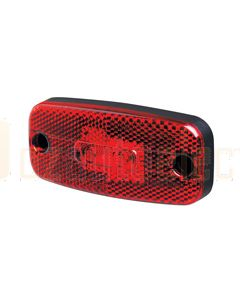 Hella LED Rear Position Lamp - Red, 24V DC (2306)