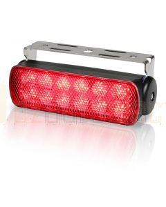 Hella Marine 2LT980670-341 LED Sea Hawk Floodlights (Bracket Mount) - Red Spread Light, Black Housing