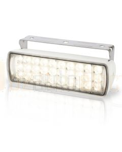 Hella Marine 2LT980950-211 LED Sea Hawk XL Floodlights - Spot Light, White Housing