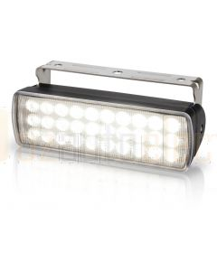 Hella  2LT980950-001 LED Sea Hawk XL Floodlights - Spread Light, Black Housing