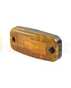 Hella LED Side Marker - Amber, 12V DC (2047)
