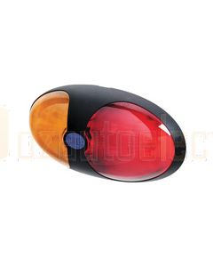 Hella LED Side Marker - Red / Amber Illuminated (2033)